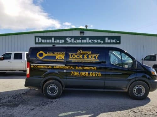 Danny's Lock & Key can handle locksmith jobs at businesses large and small.