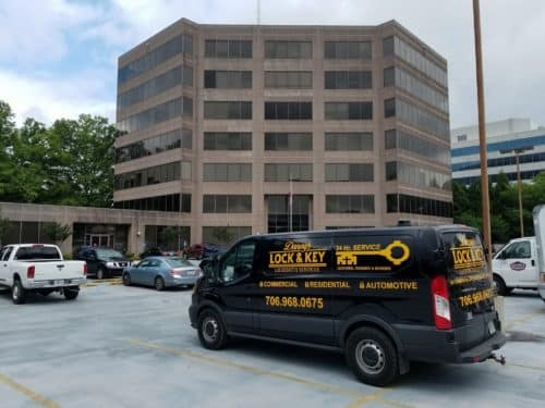 Danny's Lock & Key can handle all your office locksmith needs.