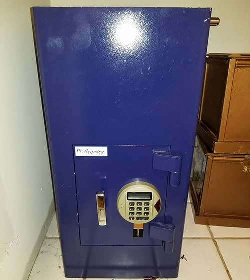 Danny's Lock & Key can reset and change combinations on all types of safes.