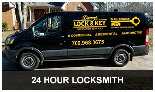 image of Danny's 24-hour locksmith van